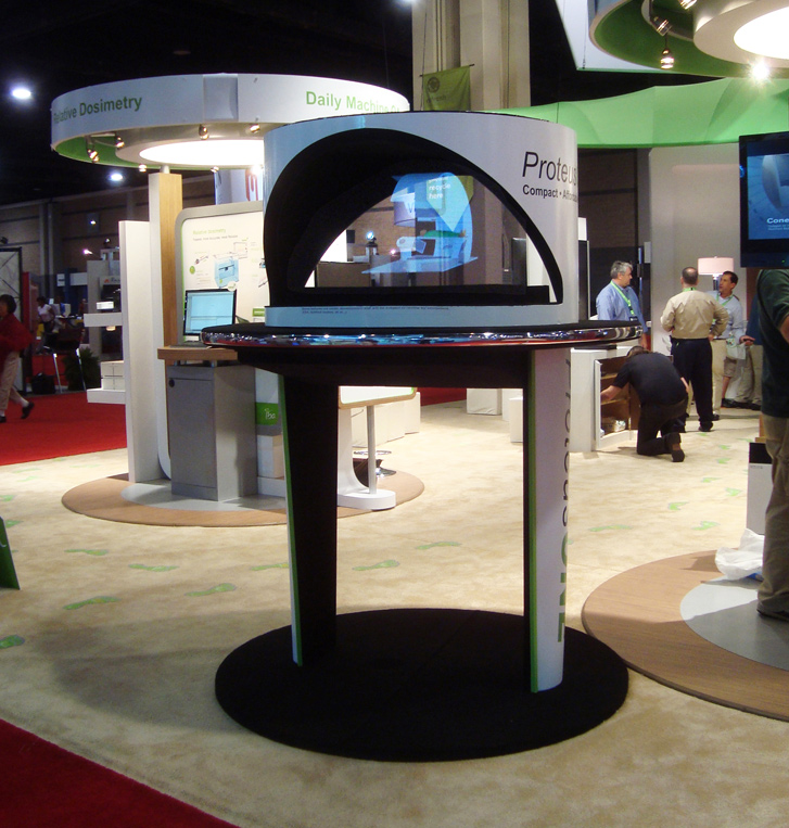 Hologram at Medical Trade Show