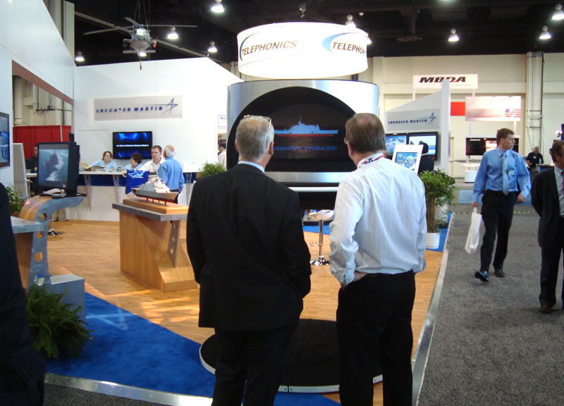 Hologram Projection featured at trade show