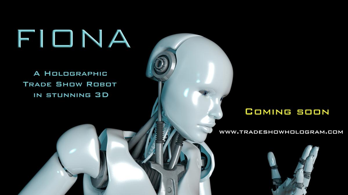 Trade Show Robot rental.