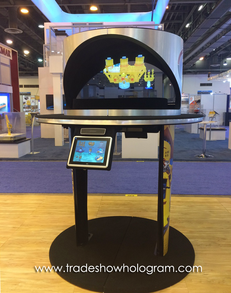 Trade Show Hologram Projector