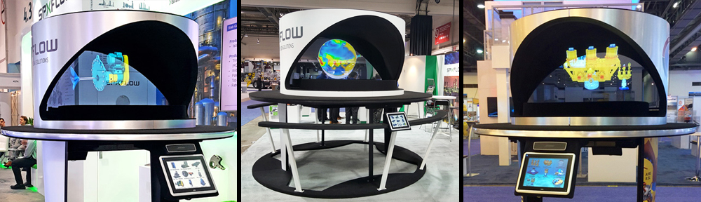 Holographic Trade Show Exhibits