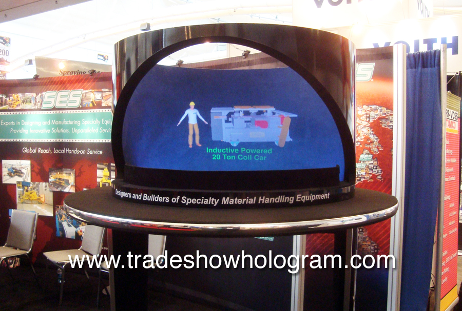 Trade Show 3D Hologram Projector