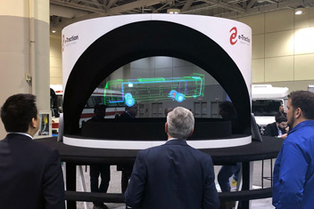 Large Hologram for Trade Shows