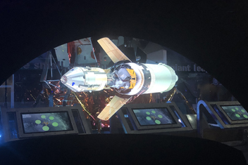 HD Hologram Projection at Kennedy Space Center